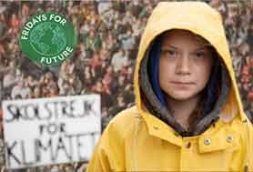 Greta Thunberg - Strike Global For Future